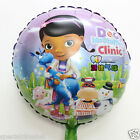 Doc Mcstuffins clinic round foil balloon party birthday kids balloons decoration