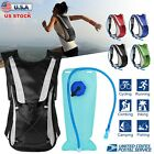 Внешний вид - US Hydration Pack + 2L Water Bladder Bag Outdoor Sport Backpack Hiking Camping