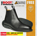 Mongrel 805025 Non Safety, Extra Comfort Fully Lined, Black, Work / Riding Boots