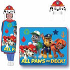 PAW PATROL | Hoodi Wink Cozy Hat Throw Blanket