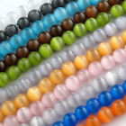Wholesale Round Cats Eye Loose Beads Crafts Jewelry Finding DIY  4/6/8/10mm
