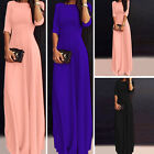 Womens Chiffon Sexy Boho Long Maxi Party Dress Evening Summer Beach Sun Dress