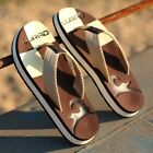 Men's Summer Beach Flip Flops Outdoor Slippers Household Shoes Sandals Anti-slip