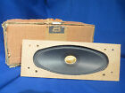 NOS DUAL SPEAKER FOR TG 15 REEL TO REEL  ORIGINAL BOX VERY GOOD CONDITION