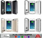 iPhone 5 5S External Battery Charger Cases Protective 2400mAh MFi Alpatronix