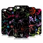 HEAD CASE DESIGNS NEON DINO FOSSIL PATTERNS GEL CASE FOR APPLE iPHONE 5 5S SE