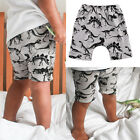 Printing Dinosaur Cotton Casual Short Pants Trousers For Toddler Kids Baby Boys