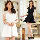 Sweet lace Strap Women's Dress Summer casual club everyday party  juniors Dress