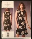 VOGUE TRACY REESE NEW YORK Sewing Pattern V1371 Women's Dress Uncut