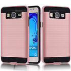 Hybrid Case Armor Brushed Protective Cover For Samsung Galaxy On5/On7/ C5 C5000
