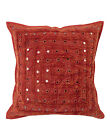 Cushion Cover Home Sofa Decor Indian Cotton Lace Work Throw Pillow Case