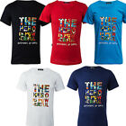 Casual Men's Short Sleeve Letter Print Fashion Tops Blouse Males T-Shirts