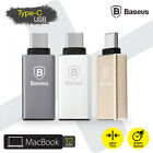BASEUS Type-C to USB 3.1 Adapter 3A Charge Converter For MacBook/Google/Nokia N1