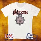 SAXON STRONG ARM OF THE LAW '80 DESIGNER UNISEX T SHIRT 368