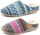 New Dunlop Agace Womens Slipper Mules ALL SIZES AND COLOURS