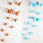3D View Butterfly Wall Decal Removable Art Sticker DIY Kids Room Home Bedroom