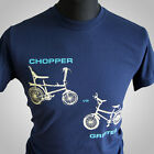 Chopper vs Grifter Retro T Shirt Vintage Raleigh Bikes 70's 80's Cool Hipster b