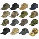 Condor Tactical Cap  Choice of 10 Colors or Camoflage  TC Hat