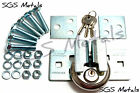 U Hasp & 70mm Discus Padlock Fixings included B1424,B1111 Doors Gates ToolBox