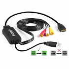eXuby HDMI to RCA Cable Adapter Converts Digital HDMI Signal to Analog RCA/AV