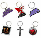 Black Sabbath Keyring Keychain 13 Flame band logo new Official metal