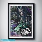 Enchantress SUICIDE SQUAD Cara Delevingne PP Signed rpt Poster A4 5x7 June Moone
