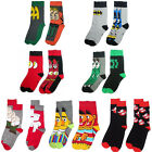 Adult Sock Twin Pack Batman/Flash/Sesame Street/Ghostbusters/Family Guy New