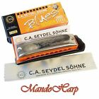Seydel Harmonica - 10314 Session Steel Harmonic Minor (SELECT KEY) NEW