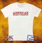 AMERICAN HEAD CHARGE HEAVY METAL ROCK BAND MUSIC UNISEX 3  WHITE T SHIRT 505