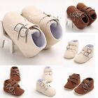 New! Toddler Baby Infant Crib Soft Sole Boys Shoes Casual Boot Prewalker 3 Size