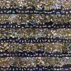 Top Crystal AB Czech Crystal Rhinestone Flatback Nail Art Decoration Multi Shape
