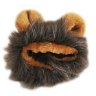 Furry Pet Hat Costume Lion Mane Wig For Cat Halloween Dress Up With Ears Party