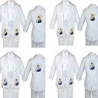 Boy Baby Baptism White Tail Tuxedo Color Embroidery Mary Maria Pope Stole Sm-7