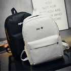 Fashion Women's Simple Canvas Satchel Backpack Rucksack Shoulder School Bag LAC