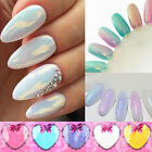 Mermaid Effect Pigment Glitter Glimmer Nail Art 10ml Powder Mixed Color 5 Packs