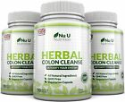 Herbal Colon Cleanse 3 Bottles x 90 Capsules 11 Ingredients Detox Bloating