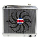 "ALUMINUM RADIATOR FOR 1961-1966 CHEVY TRUCK C/K  PICKUP 3ROW +16""FAN 62 65"