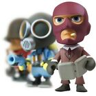 "TEAM FORTRESS 2: PORTABLE MERCS 3"" VINYL ART FIGURE open box TF2 red/blu"