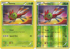 Yanma Common Pokemon Card XY11 Steam Siege 6/114