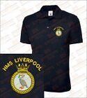 HMS LIVERPOOL Embroidered Polo Shirts