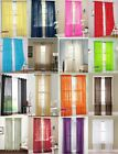 1/2 Floral Tulle Voile Door Window Curtain Drape Panel Sheer Scarf Divider Solid