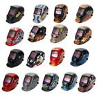 Lot Auto-Darkening Pro Solar Security Welding Helmet Grinding Arc Tig Mig Mask