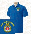 HMS BROARDSWORD Embroidered Polo Shirts