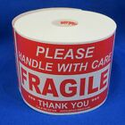 """Please Handle With Care Fragile Thank You 3""""x5"""" - Packing Shipping Labels"""