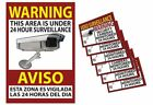 Video Surveillance Warning Sticker Home and Business Security Sign Camera