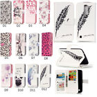 9 Card Slot Magnetic Flip Stand Leather Wallet + TPU Case Cover For LG Huawei