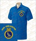 HMS UNDAUNTED Embroidered Polo Shirts