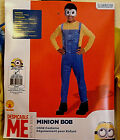 MINION COSTUME WITH EYE MASK BOB DESPICABLE ME CHILD SMALL AND MEDIUM