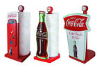 Coca Cola/Coke Shaped Wooden Kitchen Roll Holder/Stand - New & Official In Box