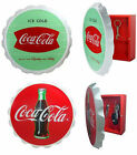 Coke/Coca Cola - Retro Vintage Style Wooden Key Cupboard Box 2 Official Designs